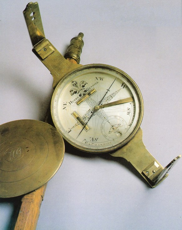 Henry Gunnell Jr. Survey Compass - Circa 1795