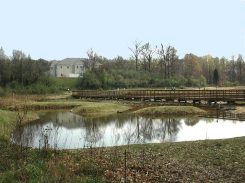 Fairfax County Regional Stormwater Pond
