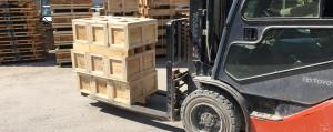 Delivering and Receiving at a Freight Warehouse