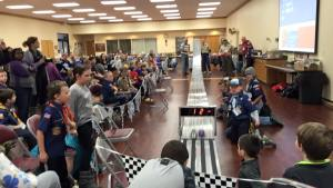 Pinewood Derby @ Windsor Elementary Cafeteria | DeForest | Wisconsin | United States