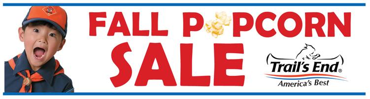 Popcorn Sales