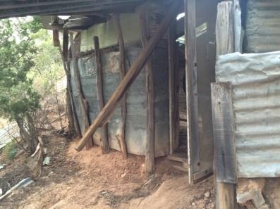 The dugout was primitive, but impressive.