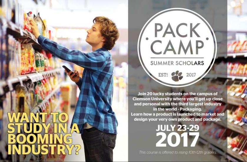 PACK CAMP 2017