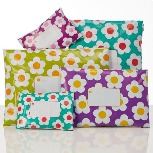 Printed Daisy Bags