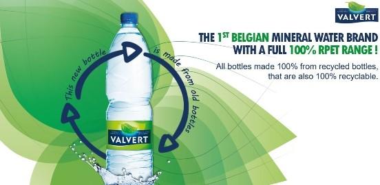Nestle Valvert launches in 100% r-PET bottle - PackagingGURUji