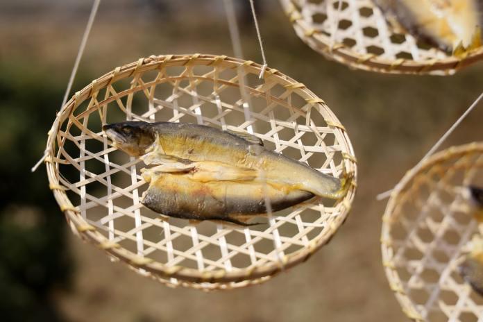 Fish Packaging Award, AYU HIRAKI, bamboo colander, Himono, frozen fish packaging award