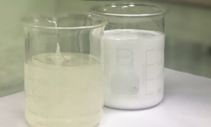 new flexbon solvent-less white adhesive from Uflex Chemical Bsuiness Unit
