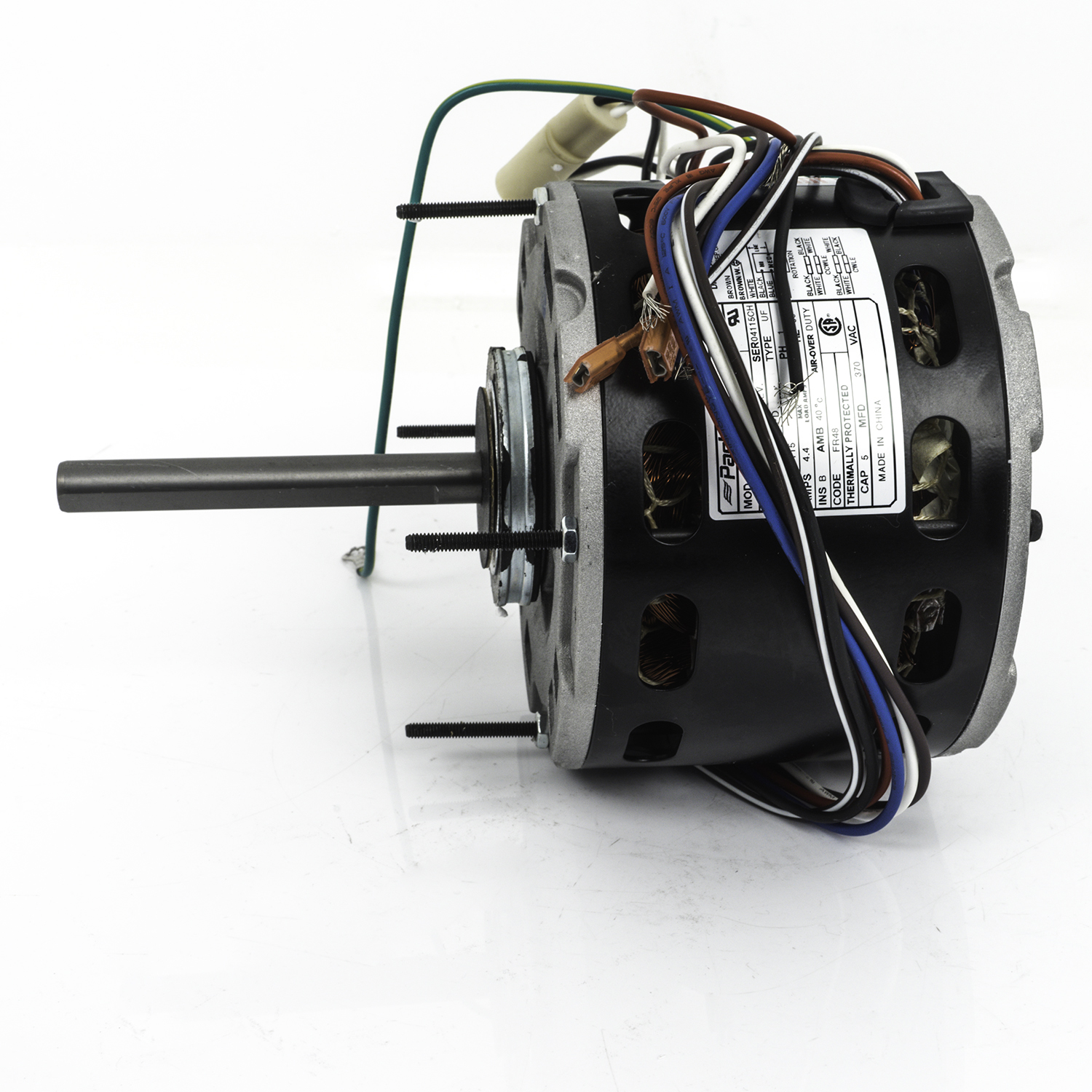 hight resolution of  48 frame direct drive blower motor 1 3 hp 115 volts 1075