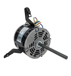 48 frame direct drive blower motor 1 6 hp 115 volts 1075 rpm 3 speed packard online [ 1500 x 1500 Pixel ]