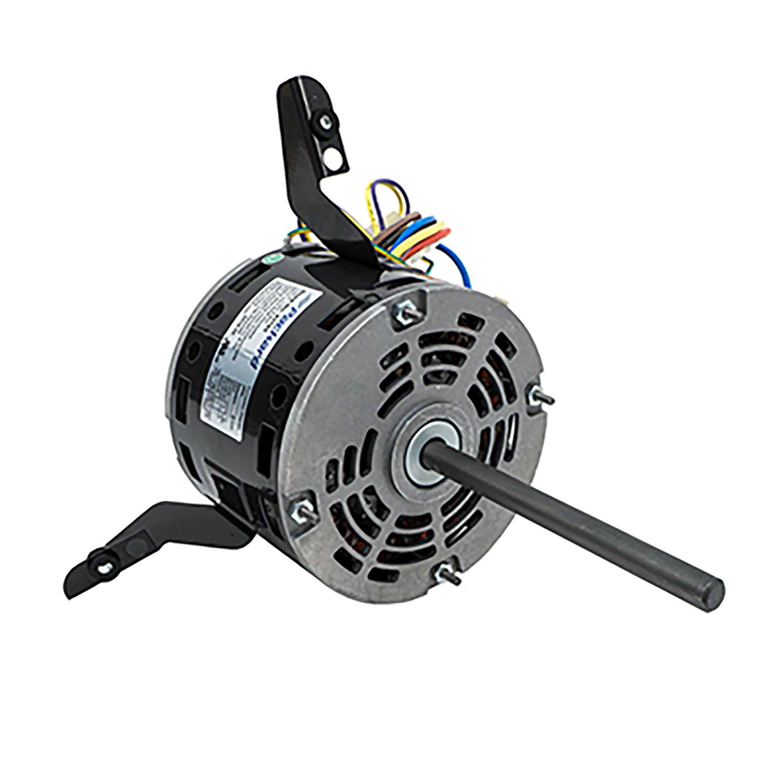 hight resolution of 48 frame direct drive blower motor 1 6 hp 115 volts 1075 rpm 3 speed packard online