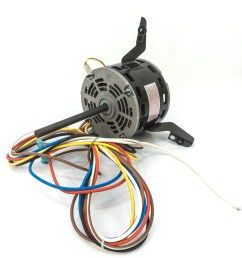 torsion flex direct drive blower motor 1 4 hp 208 230 volt  [ 1500 x 1500 Pixel ]