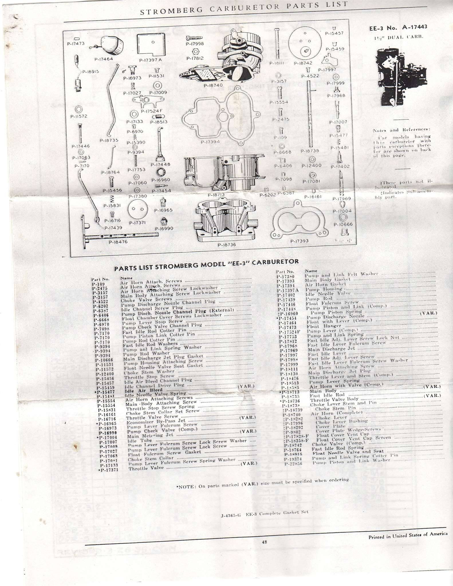 stromberg carburetor diagram holden colorado stereo wiring packard motor car information ee 3
