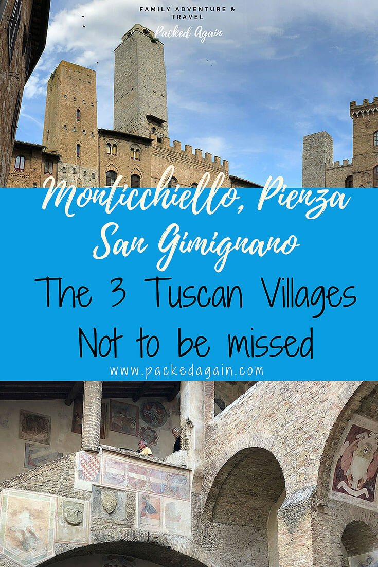Monticchiello, Pienza, San Gimignano, 3 Tuscan Villages not to be missed