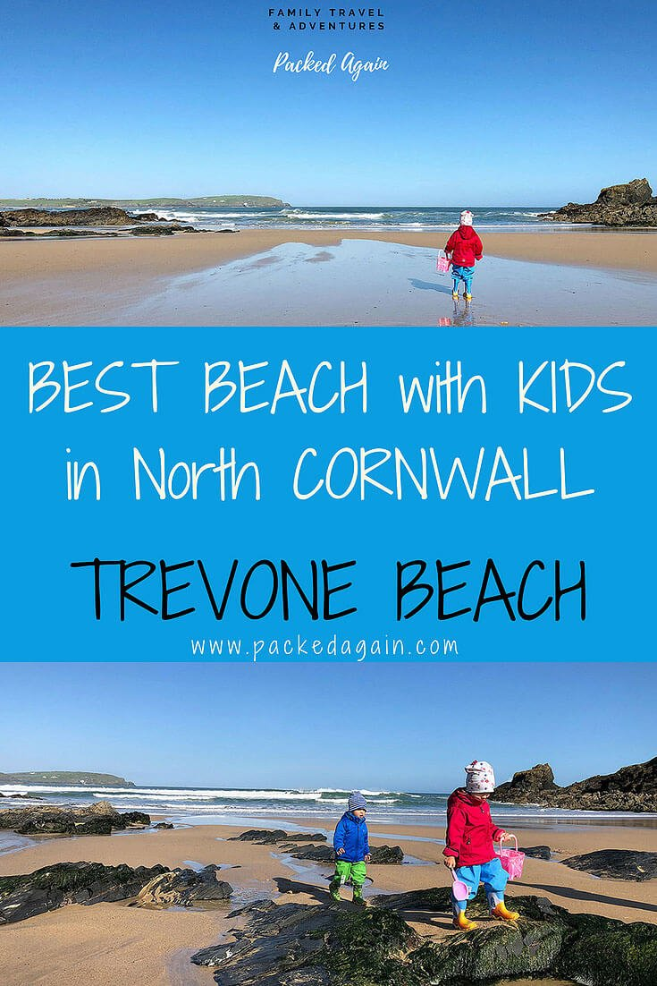 E-Book Best Beach with Kids in North Cornwall, England