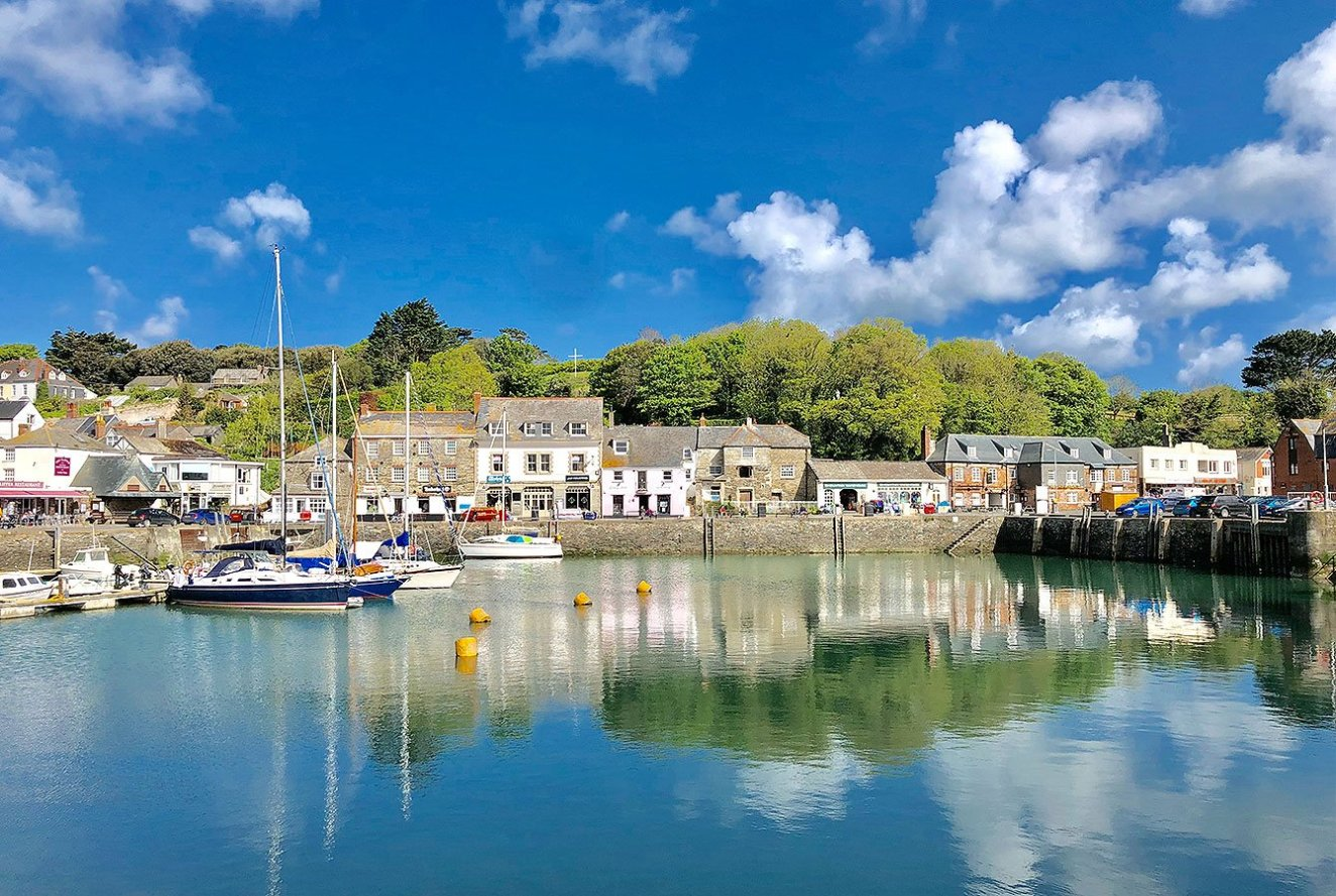 Padstow, Fishing Village, North Cornwall, England