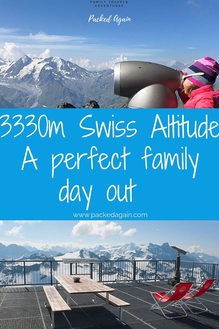 3330m Swiss Altitude - A perfect day with your kids