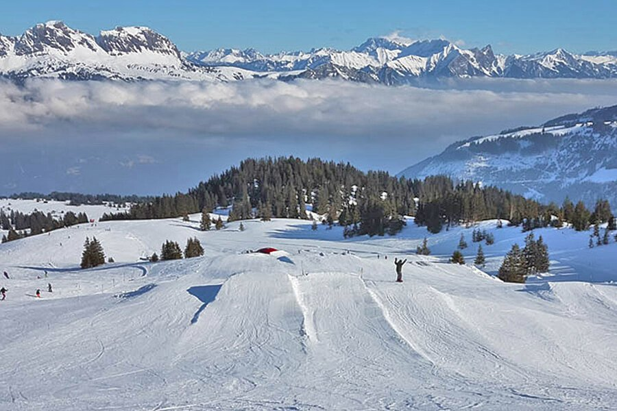 Family friendly Ski Resort Flumserberg - Switzerland