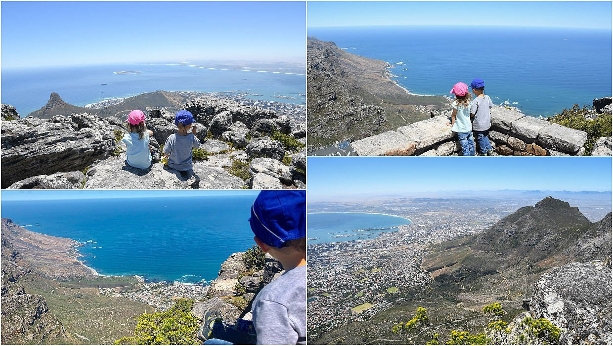 Outstanding views from the top of Table Mountain