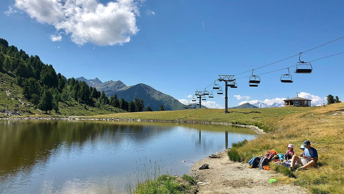 Activities for Families in Nendaz, Tracouet Station
