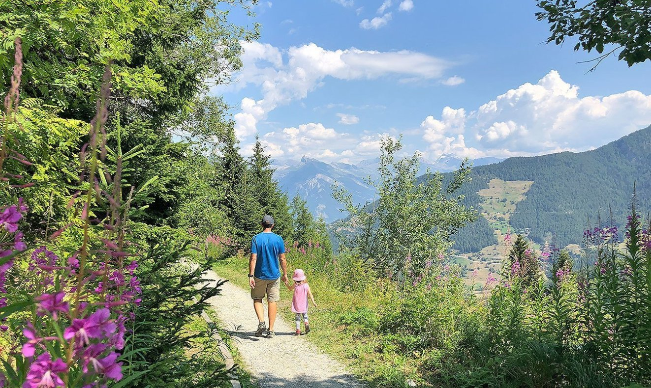 Family Hike in Valais