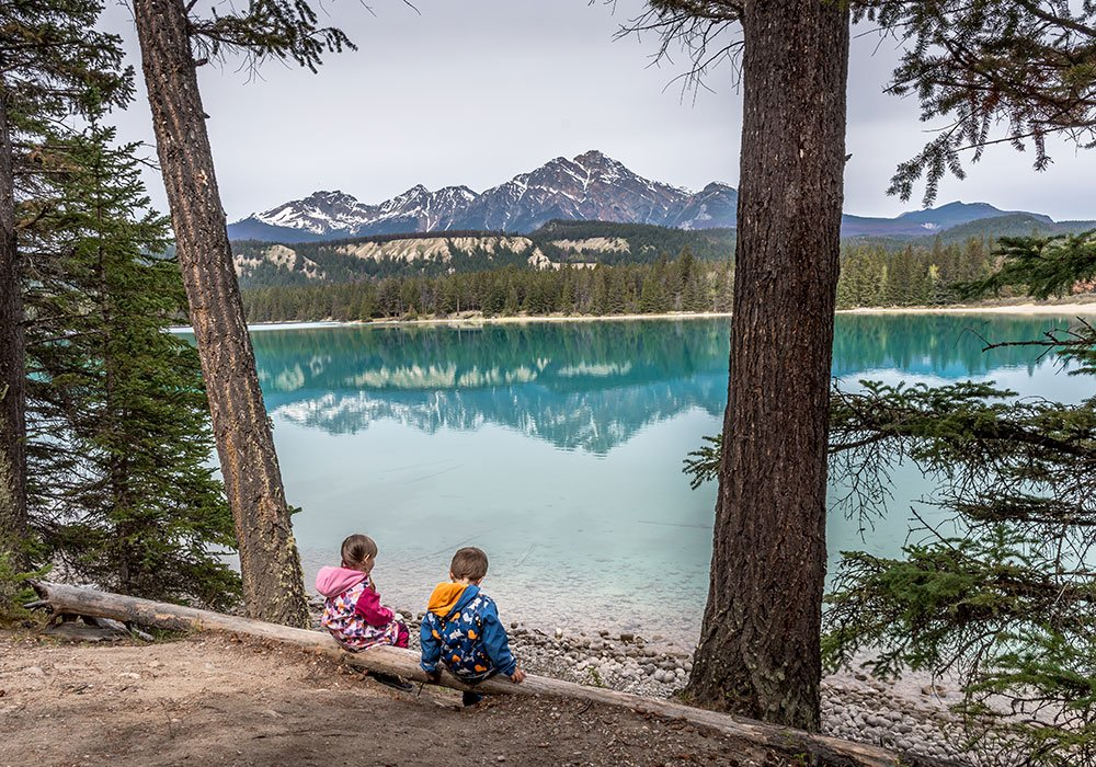 best photography spots in Canada, Annette lake , Jasper National Park
