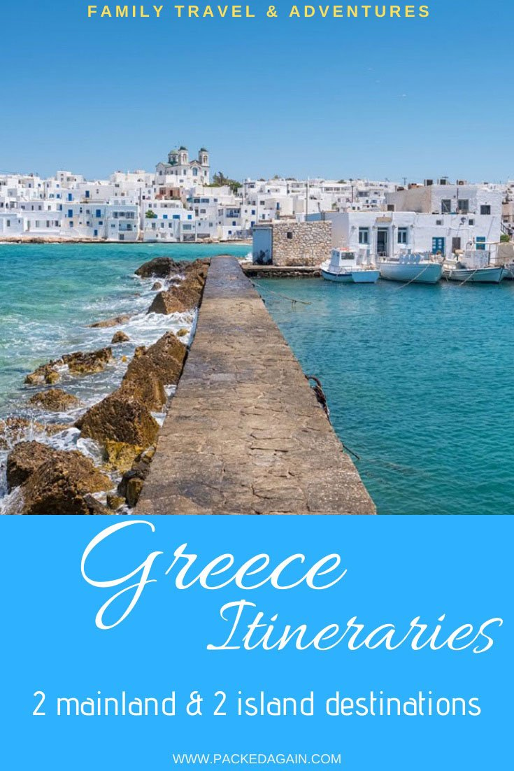 Pin to article Greece Itinerary