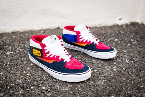 """Vans 'Year of the Monkey"""" Half Cab Multi-Suede-Leather -3"""