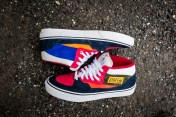 """Vans 'Year of the Monkey"""" Half Cab Multi-Suede-Leather -9"""