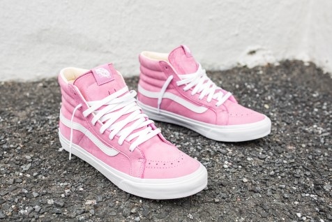 "Vans 'Year of the Monkey"" SK8-Hi Slim Pink-Leather-2"