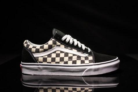 Vans Old Skool Checkerboard black-expresso