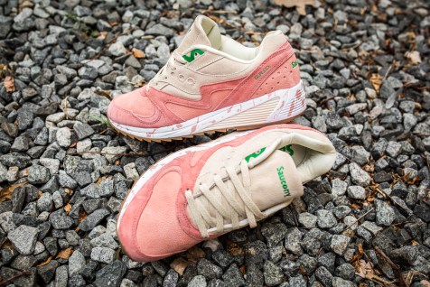 Saucony Grid 8000 'Shrimp Scampi' pink-cream-13