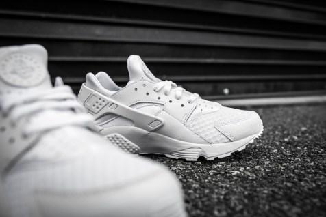 Nike Air Huarache White-White-10