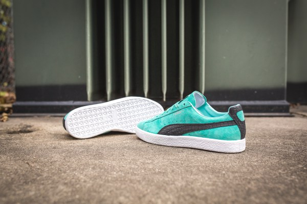 aefafdf2 Mens Puma Clyde X Diamond Supply Shoes - Year of Clean Water