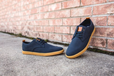 Clae Ellington Textile Deep Navy Canvas-13