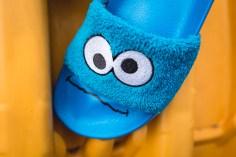 Puma x Sesame Street Slides Cookie Monster 362456 01-16