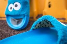 Puma x Sesame Street Slides Cookie Monster 362456 01-17