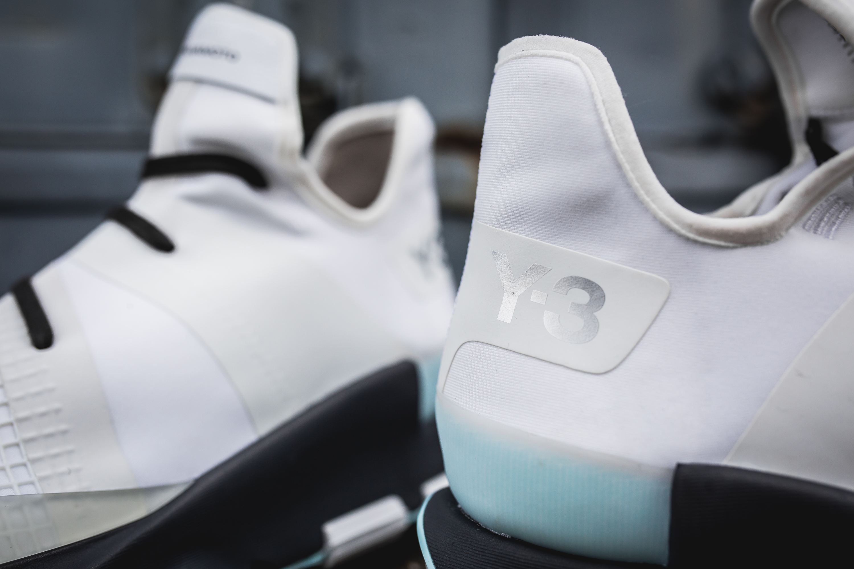 A New Triple Black Colorway Of The adidas Y-3 Qasa High