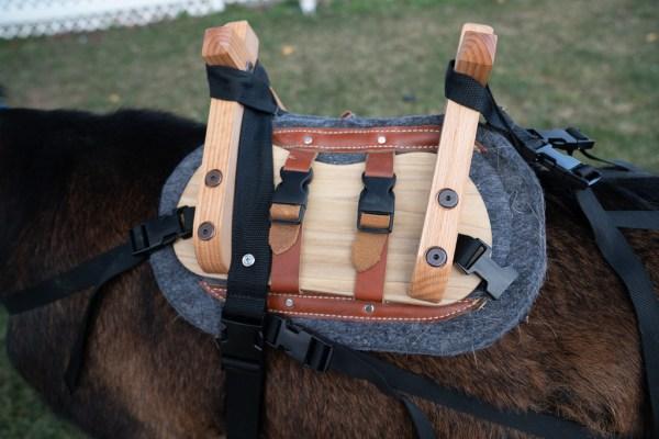 pack goat saddles