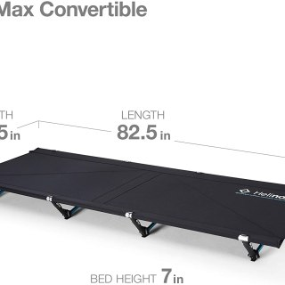 Helinox Cot Max Lightweight, Compact, Collapsible, Portable Camping Cot