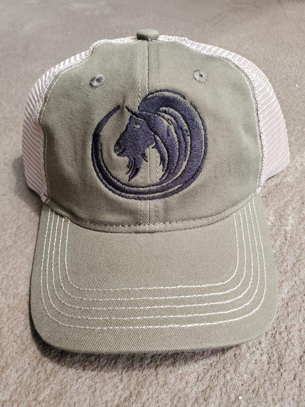 Soft Olive Pack Goat Hat