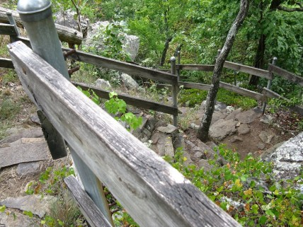 Stairs to falls