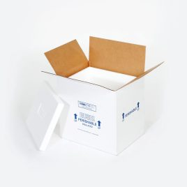 21 1/4×15 1/2×15 1/2″ Insulated Shipper – 2″ Thickness $36.38/piece