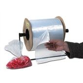 10×12″ 1.5 Mil Standard Gauge Poly Bags On A Roll (1250/roll) $90.48/piece