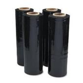 18″x1,500` 80 GA. Opaque (Black) Hand Stretch Film (4/Case) $62.54/piece