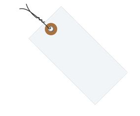 #3 3 3/4″x1 7/8″ Tyvek® Shipping Tags – Pre-wired (1000/case) $91.09/piece