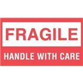 #DL1070  3×5″  Fragile Handle with Care Label $13.91/piece
