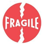 #DL1140  4×4″  Fragile Label $13.91/piece