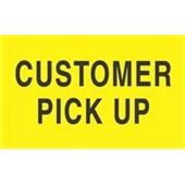 #DL2121  3×5″  Customer Pick Up Label $13.91/piece