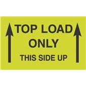 #DL2701  3×5″  Top Load Only Label This Side Up (Arrows) $13.91/piece