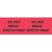 #DL3111  3×10″  Do Not Break Stretch Wrap (Flourescent Red/Black) Label $36.82/piece